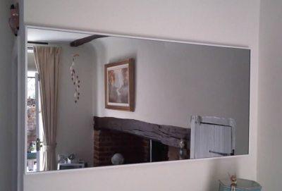 Infrarotheizung mit Spiegel