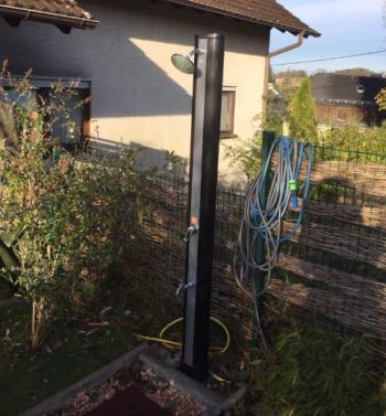 Solardusche test