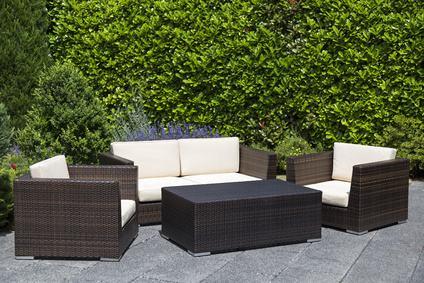 Rattan Lounge Moebel Garten
